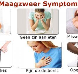 maagzweer symptomen